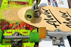 Skates velhos Fotos de Stock
