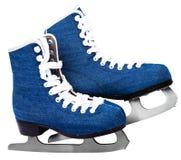 Skates on white. Skates shoes isolated on white background Royalty Free Stock Image