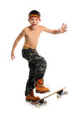Skating boy Royalty Free Stock Photos