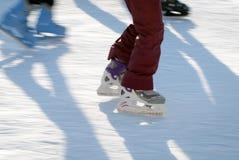 Skating fast Stock Photography