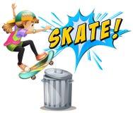 Skating Stock Photo