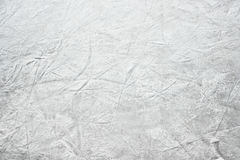 Skating ice. With trails from skaters royalty free stock photography