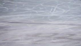 Skating ice ring texture. Hockey, frozen. stock photo