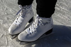 Skating ice Royalty Free Stock Photography