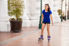 Skating is so much fun Stock Photos