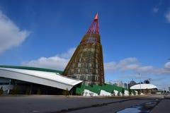 Skating ring ALAU in Astana Royalty Free Stock Image