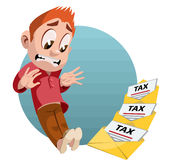 Skattbokstäver Arkivfoto