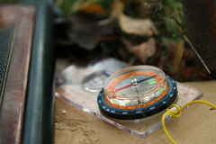 Skautowski kompas Zdjęcie Stock