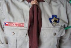 Skautowski kostium Fotografia Stock