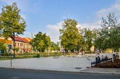 Skawina City in Poland. Stock Image