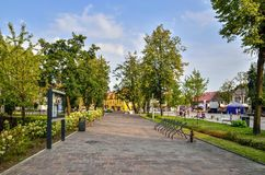 Skawina City in Poland. Royalty Free Stock Photography