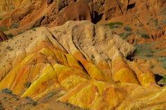 Skazka童话峡谷在Kirgyzstan 免版税库存图片