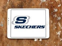 Skechers butów gatunku logo Obrazy Stock
