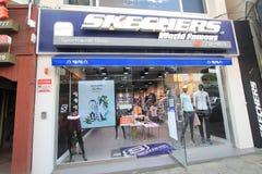 Skechers shop in Jeju Royalty Free Stock Photo