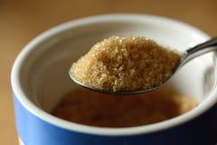 Sked av socker Fotografering för Bildbyråer