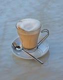 sked för kaffekopp Royaltyfri Fotografi