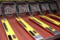 Skee ball. Skeeball amusement game royalty free stock image