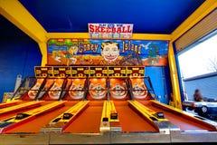 Skeeball en Coney Island Fotografía de archivo libre de regalías