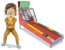 Skeeball Winner Stock Photography
