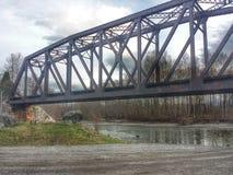 Skeena bridge Royalty Free Stock Photo