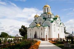 Skeet, Krasnohirskyy monastery, town Zolotonosha, Cherkasy Royalty Free Stock Photo