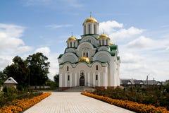 Skeet, Krasnohirskyy monastery, town Zolotonosha, Cherkasy Royalty Free Stock Photography