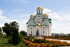Skeet, Krasnohirskyy monastery, town Zolotonosha, Cherkasy Stock Image
