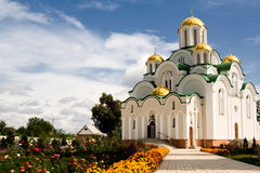 Skeet, Krasnohirskyy monastery, town Zolotonosha, Ukraine Royalty Free Stock Photo