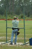 Skeet Shooter Stock Photography
