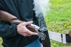 Skeet Shooting Fotografering för Bildbyråer