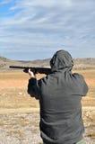 Skeet strzelaniny zabawa Zdjęcia Stock
