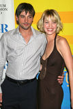"""William S. Paley,Skeet Ulrich,Ashley Scott. Skeet Ulrich and Ashley Scott at the 24th Annual William S. Paley Television Festival Featuring """"Jericho"""" presented Stock Photos"""