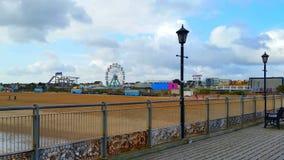 Skegness码头 免版税库存图片