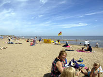 Skegness beach, Lincolnshire. Stock Image