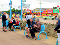 Skegness, Lincolnshire. Royalty Free Stock Photography