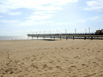 Skegness pier, Lincolnshire. Stock Photo