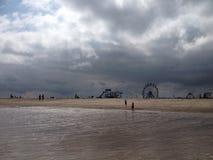 Skegness strand Royaltyfria Foton