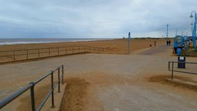 Skegness strand Fotografering för Bildbyråer