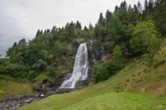 Skeie Waterfall Stock Images