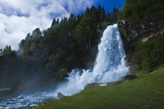 Skeie Waterfall, Norway Royalty Free Stock Images
