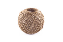 Skein of flax twine Stock Image