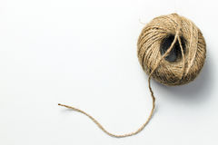 Skein of hemp rope Stock Photography