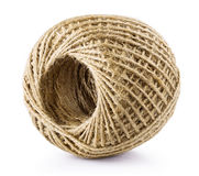Skein of jute twine Royalty Free Stock Photo