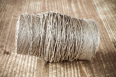 Skein jute twine Stock Photos