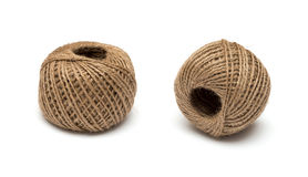 Skein of jute twine Stock Photos