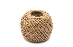 Skein of jute twine Stock Images
