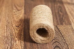 Skein of jute twine Stock Image