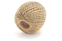 Skein of packaging jute twine Royalty Free Stock Image
