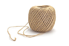 Skein of packaging jute twine Stock Images
