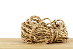 Skein of synthetic rope Royalty Free Stock Images